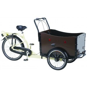 Ladcykel med elmotor